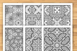 Print on Demand: 30 Lovely Geometric Coloring Pages Graphic Coloring Pages & Books Adults By JM_Graphics 4