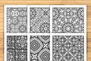 Print on Demand: 30 Lovely Geometric Coloring Pages Graphic Coloring Pages & Books Adults By JM_Graphics 5