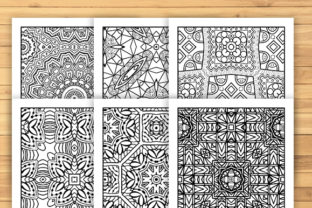 Print on Demand: 30 Lovely Geometric Coloring Pages Graphic Coloring Pages & Books Adults By JM_Graphics 6