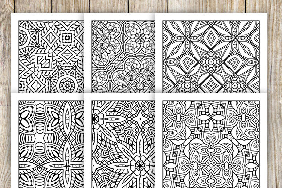 Print on Demand: 30 Relaxing Abstract Coloring Pages Graphic Coloring Pages & Books Adults By JM_Graphics - Image 2