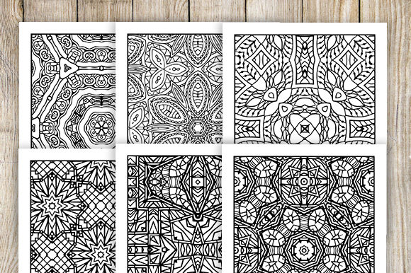 Print on Demand: 30 Relaxing Abstract Coloring Pages Graphic Coloring Pages & Books Adults By JM_Graphics - Image 3