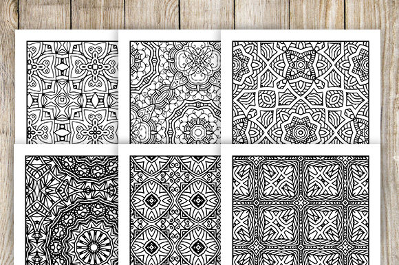 Print on Demand: 30 Relaxing Abstract Coloring Pages Graphic Coloring Pages & Books Adults By JM_Graphics - Image 4