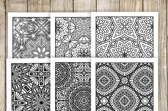 Print on Demand: 30 Relaxing Abstract Coloring Pages Graphic Coloring Pages & Books Adults By JM_Graphics - Image 5