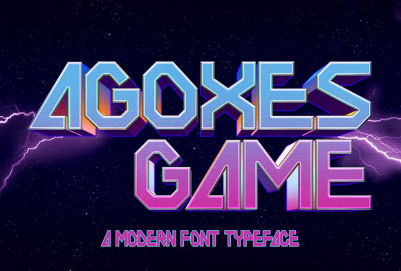 Print on Demand: Agoxes Game Display Font By Sealoung
