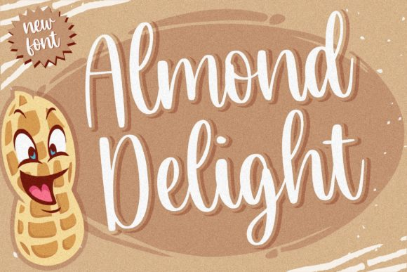 Print on Demand: Almond Delight Script & Handwritten Font By Balpirick