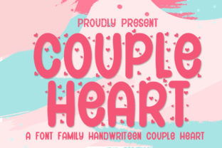 Print on Demand: Couple Heart Script & Handwritten Font By jehansyah251