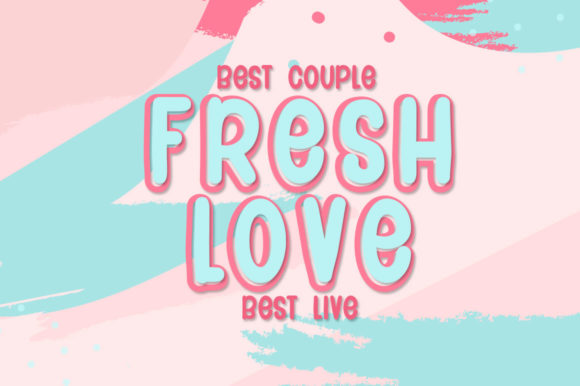 Couple Heart Font Download