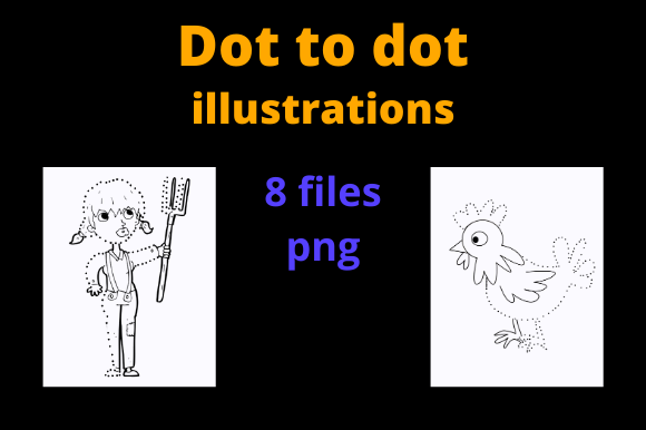 Dot to Dot Graphics - Activity Books KDP Graphic