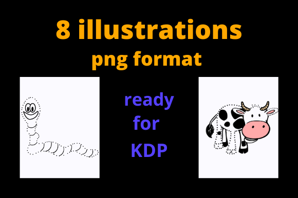 Dot to Dot Graphics - Activity Books KDP Graphic Download
