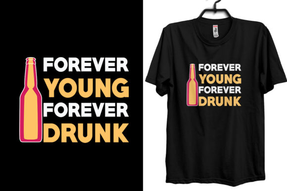 Drinking T-shirt Design Template Graphic Print Templates By Storm Brain