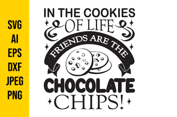 Print on Demand: Friends Chocochip Graphic Crafts By Tosca Digital