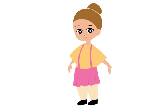 Girl Chibi Character Vector 49 Graphic Illustrations By harunikaart