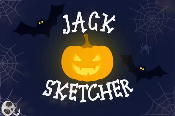 Print on Demand: Jack Sketcher Display Font By deedeetype