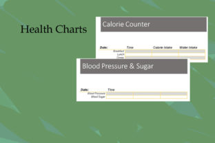 Print on Demand: KDP Interior, Health Charts Tabular Graphic KDP Interiors By Designs_by_Shorty