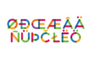 Print on Demand: Multicolore Color Fonts Font By neogrey 5