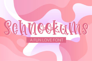 Print on Demand: Schnookums Display Font By freelingdesignhouse