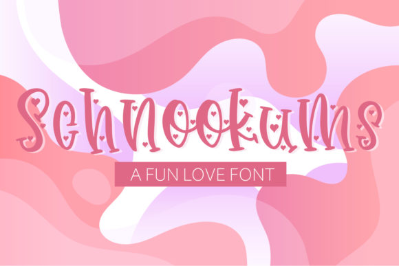 Print on Demand: Schnookums Display Schriftarten von freelingdesignhouse