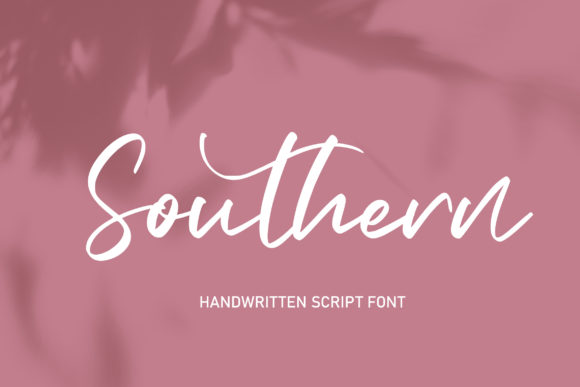 Print on Demand: Southern Script & Handwritten Font By Alit Design