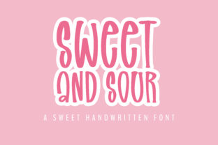 Print on Demand: Sweet and Sour Script & Handwritten Font By BitongType 1