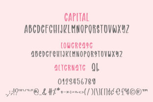 Print on Demand: Sweet and Sour Script & Handwritten Font By BitongType 9