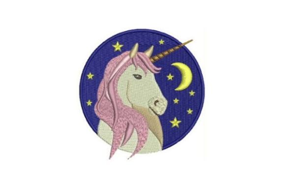 free unicorn for adults embroidery design