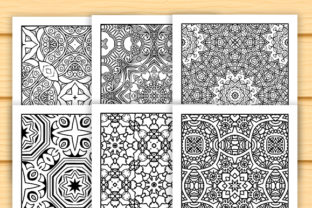 Print on Demand: 30 Abstract Pattern Coloring Set Graphic Coloring Pages & Books Adults By JM_Graphics 2