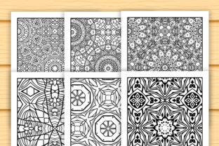 Print on Demand: 30 Abstract Pattern Coloring Set Graphic Coloring Pages & Books Adults By JM_Graphics 4