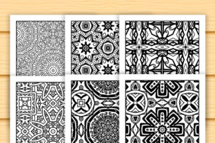 Print on Demand: 30 Abstract Pattern Coloring Set Graphic Coloring Pages & Books Adults By JM_Graphics 5
