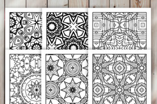 Print on Demand: 30 Cool Abstract Art Coloring Pages Graphic Coloring Pages & Books Adults By JM_Graphics 2