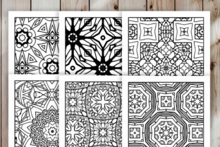 Print on Demand: 30 Cool Abstract Art Coloring Pages Graphic Coloring Pages & Books Adults By JM_Graphics 3