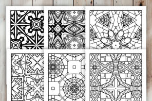 Print on Demand: 30 Cool Abstract Art Coloring Pages Graphic Coloring Pages & Books Adults By JM_Graphics 4