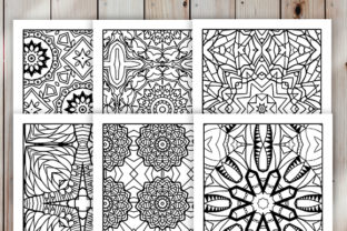Print on Demand: 30 Cool Abstract Art Coloring Pages Graphic Coloring Pages & Books Adults By JM_Graphics 5