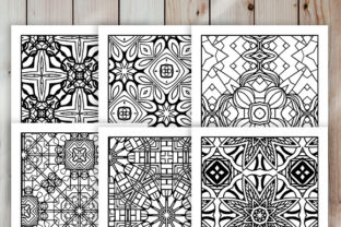Print on Demand: 30 Cool Abstract Art Coloring Pages Graphic Coloring Pages & Books Adults By JM_Graphics 6