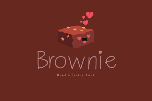 Print on Demand: Brownie Script & Handwritten Font By IsaraDesign