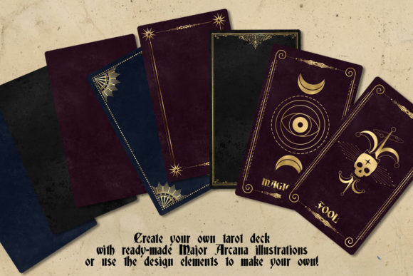 Print on Demand: Celestial Tarot Illustrations Graphic Illustrations By Digital Curio - Image 5