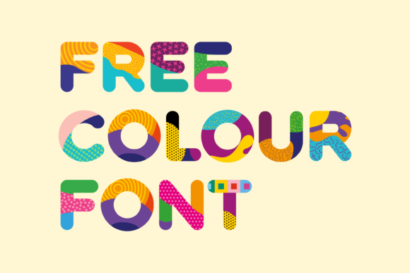 Print on Demand: Fattern Color Fonts Font By neogrey - Image 2