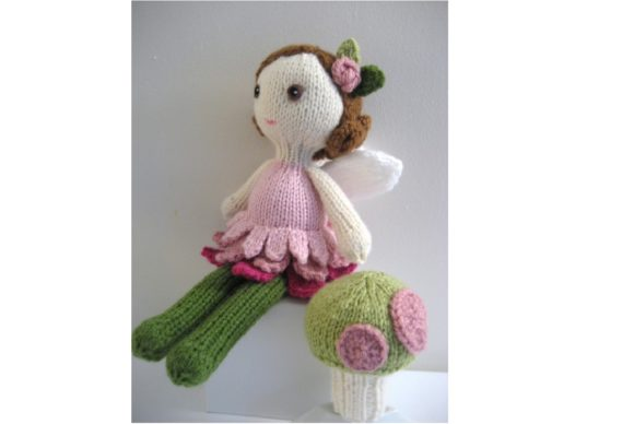 Knit Doll Pattern Collection Graphic Knitting Patterns By Amy Gaines Amigurumi Patterns - Image 5