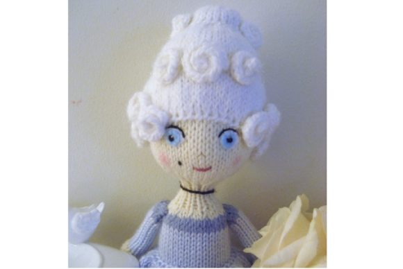 Knit Doll Pattern Collection Graphic Knitting Patterns By Amy Gaines Amigurumi Patterns - Image 7