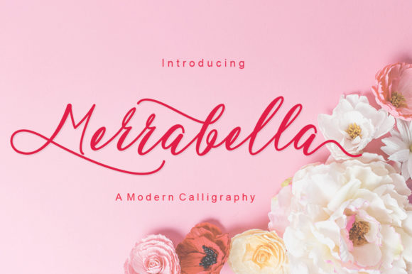 Print on Demand: Merrabella Script & Handwritten Font By JoeeCreative