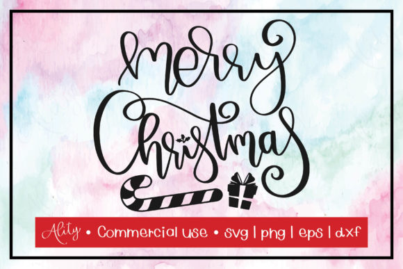 Print on Demand: Merry Christmas Graphic Crafts By Ality