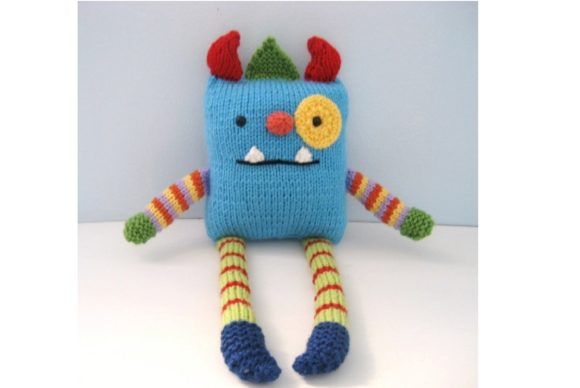 Monster Knit Pattern Graphic Knitting Patterns By Amy Gaines Amigurumi Patterns - Image 1