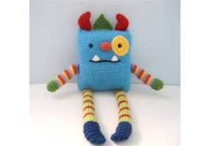 Monster Knit Pattern Graphic Knitting Patterns By Amy Gaines Amigurumi Patterns