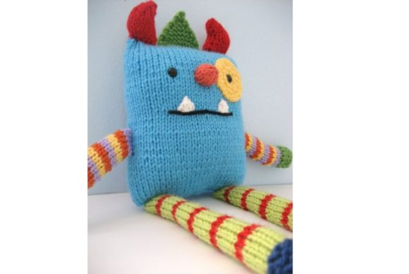 Monster Knit Pattern Graphic Knitting Patterns By Amy Gaines Amigurumi Patterns - Image 2