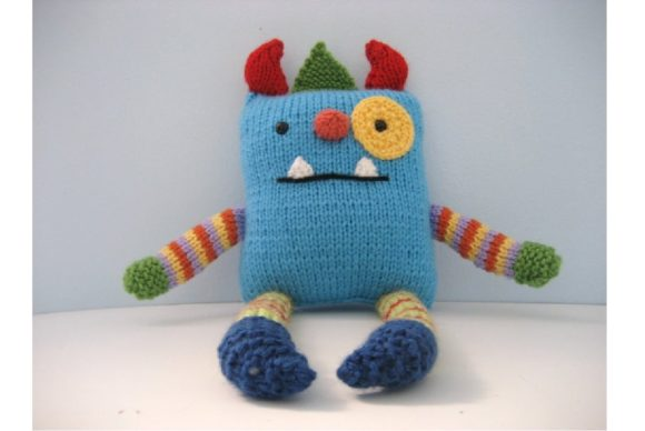 Monster Knit Pattern Graphic Knitting Patterns By Amy Gaines Amigurumi Patterns - Image 3
