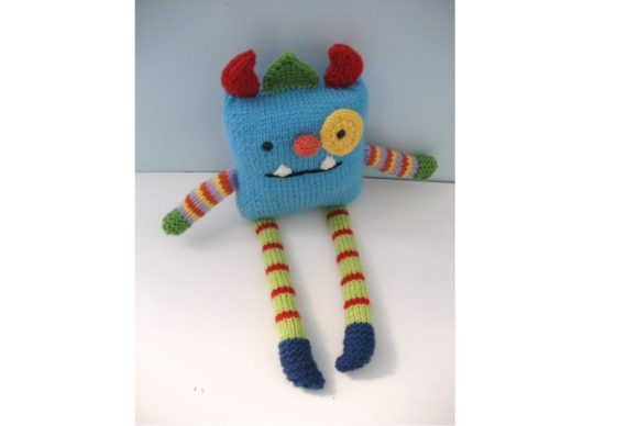 Monster Knit Pattern Graphic Knitting Patterns By Amy Gaines Amigurumi Patterns - Image 4