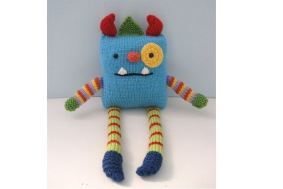 Monster Knit Pattern Graphic Knitting Patterns By Amy Gaines Amigurumi Patterns - Image 5