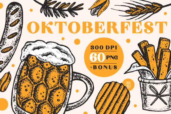Print on Demand: Oktoberfest. Digital Prints, Images Graphic Illustrations By FoxBiz