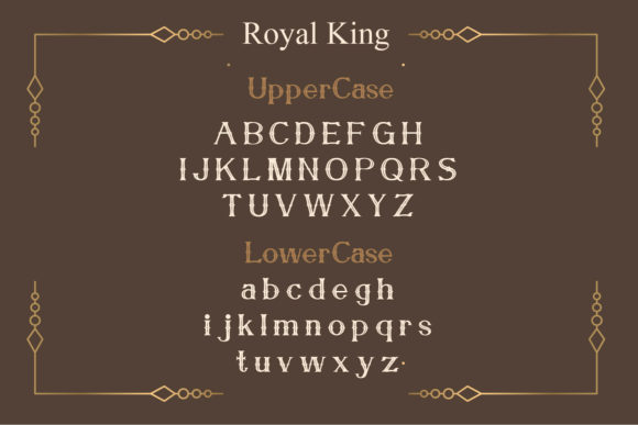 Print on Demand: Royal King Serif Font By Maulana Creative - Image 2