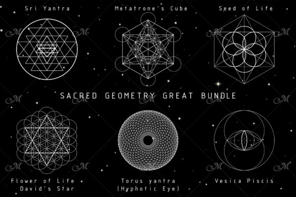 Sacred Geometry Great Bundle Graphic Illustrations By MaddyZ