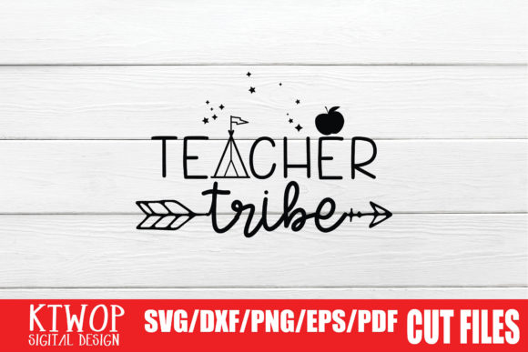 Print on Demand: Teacher Tribe Graphic Crafts By KtwoP